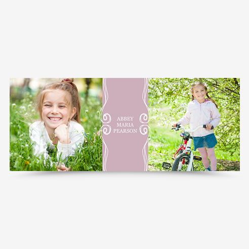 "57x23"" Cloth Banner 